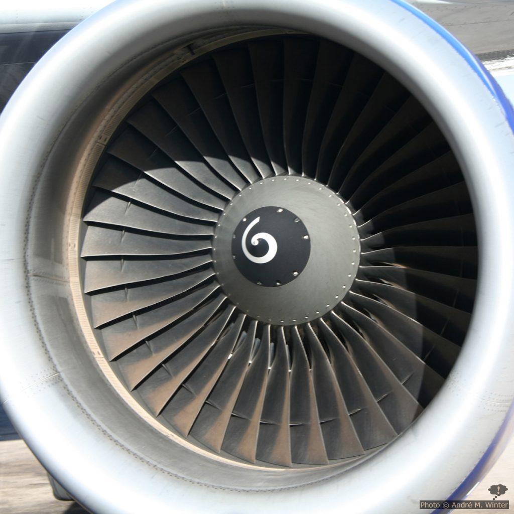 Réacteur à propulsion d'un A320