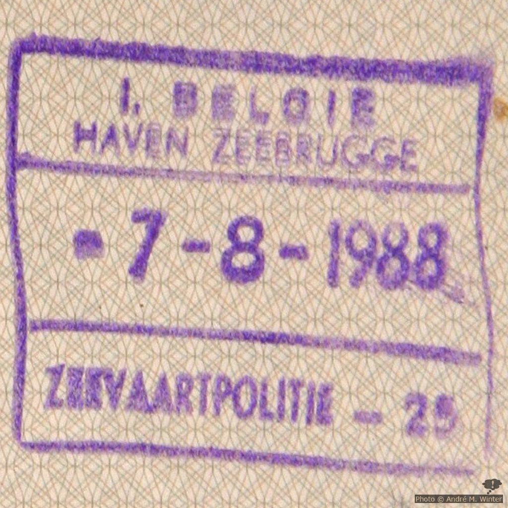 Der Stempel markiert nur das Einreisedatum und keine weiteren Bedingungen.
