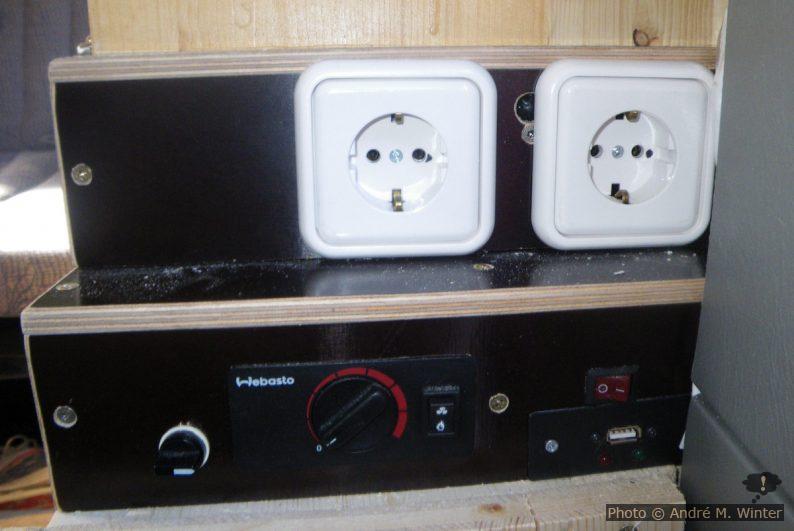 Stecker und Schalter