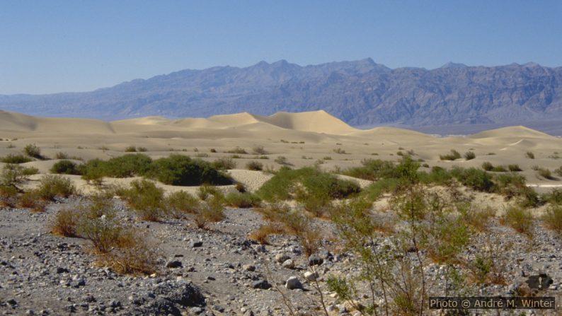 Thorndike Campground au-dessus du Death Valley - André does…