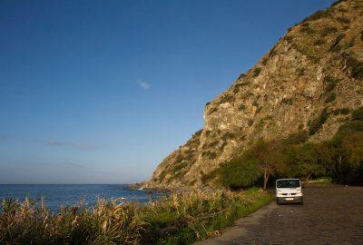 Notre trafic le matin au Lungomare Joppolo