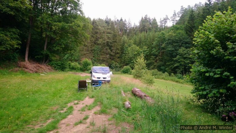 Notre Trafic près de la rivière Kamp