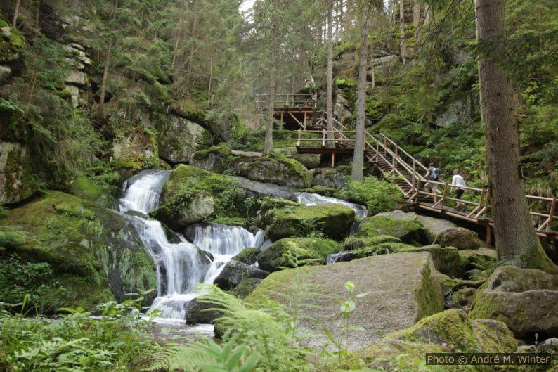 La cascade Lohnbachfall