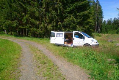 Notre trafic un peu plus loin dans les bois