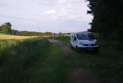 Notre Trafic au col Knogl Sattel