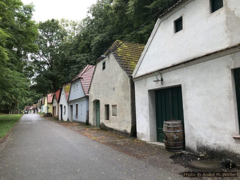 Ruelle de caves à vin Eichberger Kellergasse