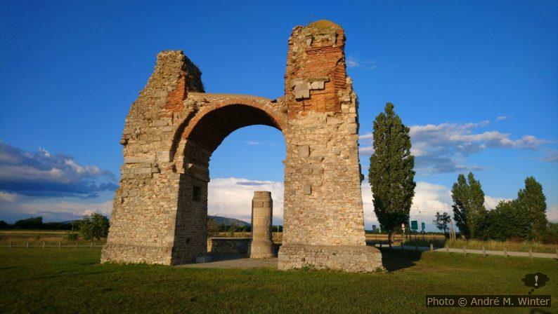 Porte romaine des Païens à Carnuntum