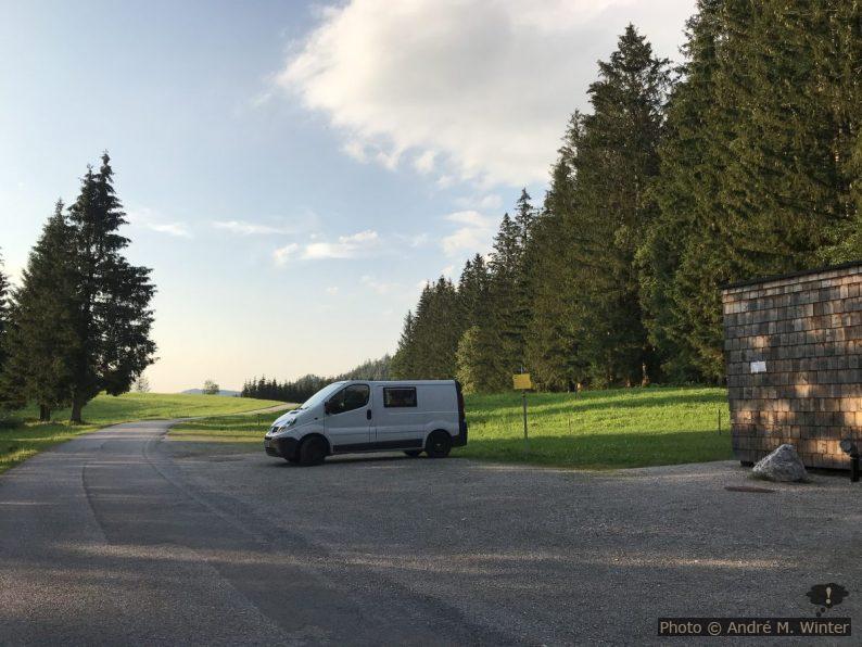 Notre Trafic sur le parking de la tourbière Leckermoo