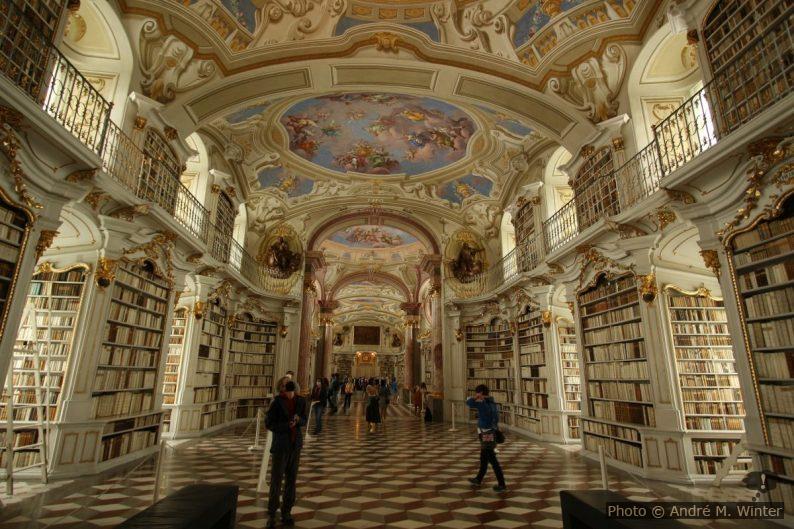 La bibliothèque d'Admont