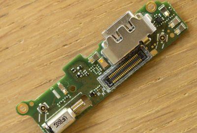 Sony XA2 Platine mit USB-C Anschluss