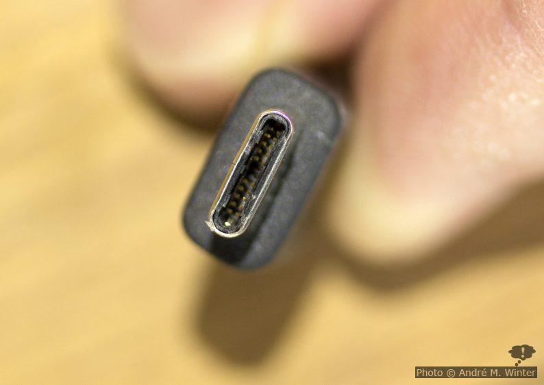 Sony USB-C Datenkabel Stecker