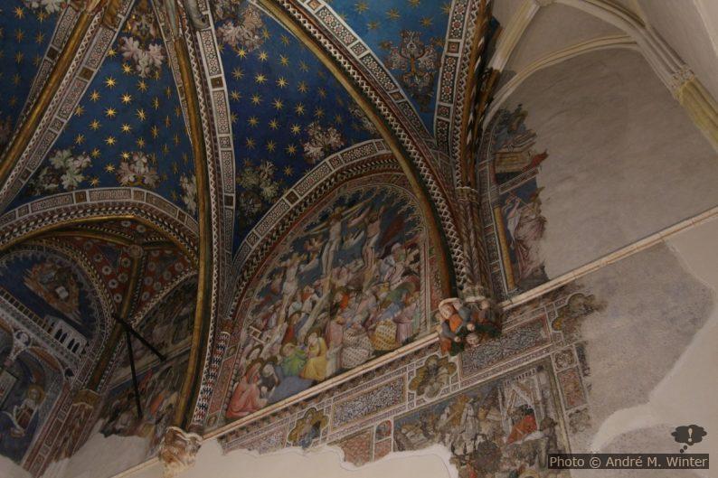 Peintures dans la Chapelle Saint Blaise de la Cathédrale de Tolède