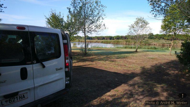 Notre Trafic au Camping Lago Le Tamerici