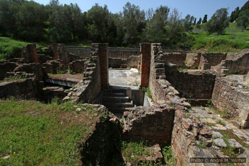 Thermes ouest de Miróbriga