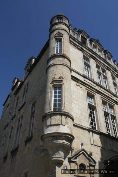 Échauguette d'un palais de ville à Bergerac
