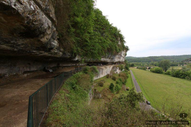 Surplomb principal de la Roque Saint-Christophe