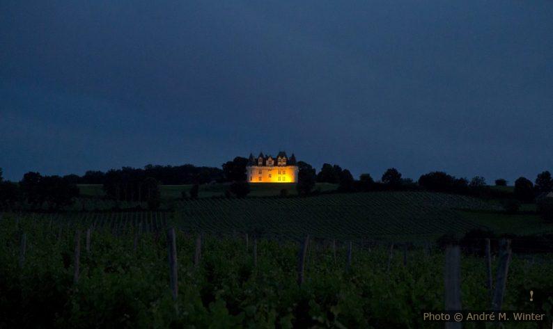 Château de Monbazillac la nuit