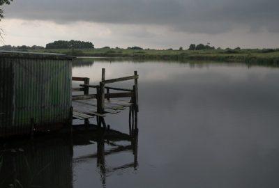 Canal de la Martinière après la pluie