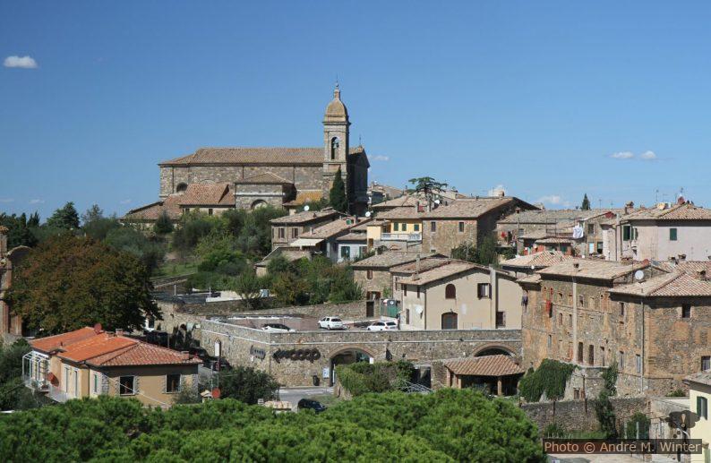 Montalcino vu de la Fortezza della Rocca