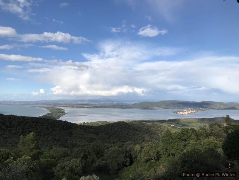 La Giannella et Laguna di Orbetello