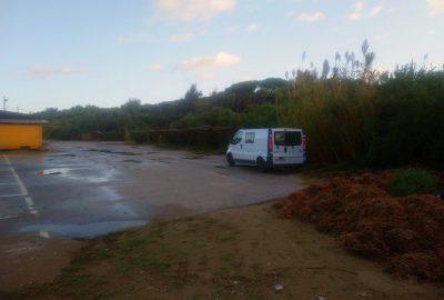 Notre Trafic le matin sur le parking de la plage Siesta Maresca Raffaele