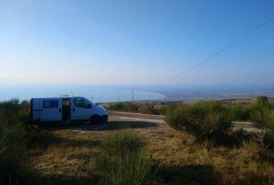 Notre Trafic le matin au-dessus du Golfe de Manfredonia
