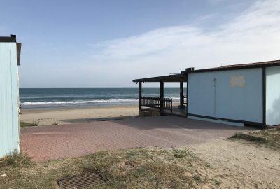 L'établissement la Spiaggia Paradiso sur Varano