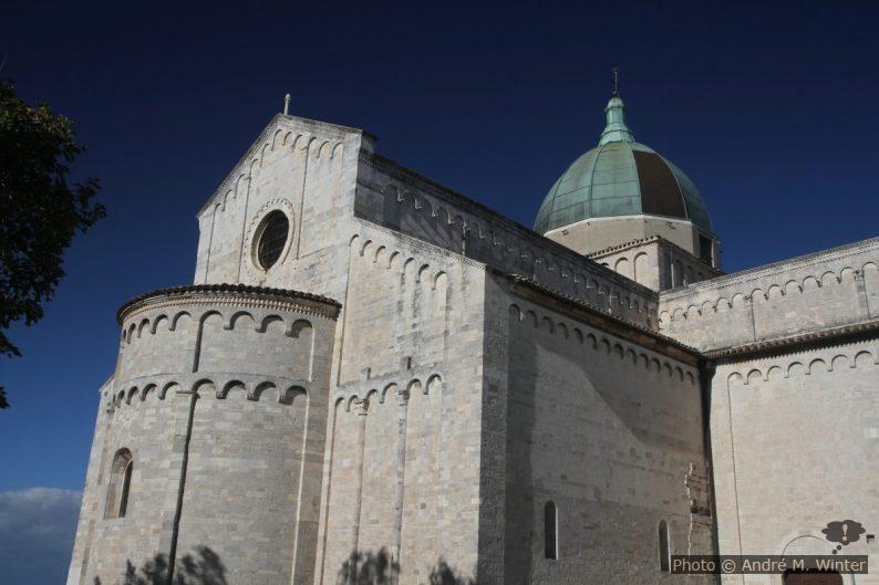 La cathédrale d'Ancône