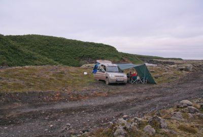 Notre camp entre Leirá et Hólmsá
