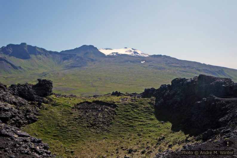 Cratère de Saxhóll et Snæfellsjökull