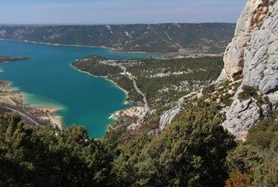 Baie du Galétas sur le Lac de Sainte-Croix