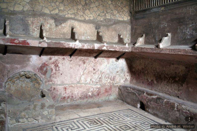 Terme femminili à Herculaneum