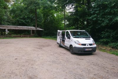 Notre Trafic le matin dans la forêt de Dossenheim